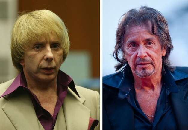 Al Pacino will star in an upcoming HBO biopic as music producer Phil Spector, now in prison for murder. The movie will be directed by David Mamet. (Pool / Getty Images)