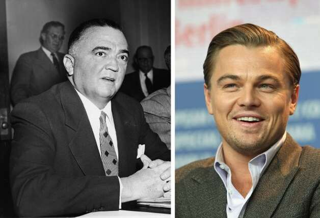 Leonardo DiCaprio was among stars who played famous icons last year in his portrayal of former FBI head J. Edgar Hoover. He was nominated for a Golden Globe. (Hulton Archive / Getty Images)
