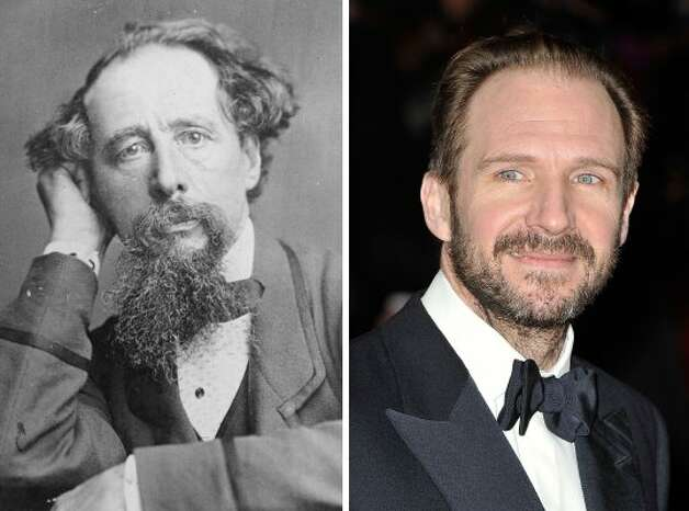 "Ralph Fiennes will star as Charles Dickens in ""The Invisible Woman,"" a movie about the author's relationship with a woman half his age. Fiennes will also direct the movie. (General Photographic Agency / Getty Images)"