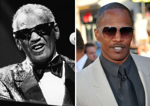 "Jamie Foxx won an Oscar for his portrayal of Ray Charles in the 2004 movie ""Ray."""