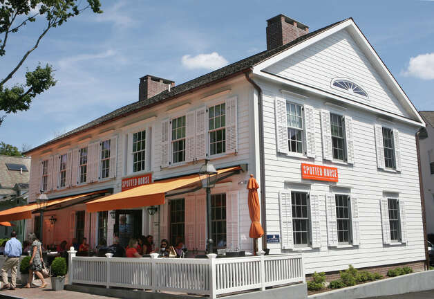 Exterior of the Spotted Horse Tavern in Westport, Conn. Monday, August 13, 2012. Photo: Unknown, B.K. Angeletti / Connecticut Post freelance B.K. Angeletti