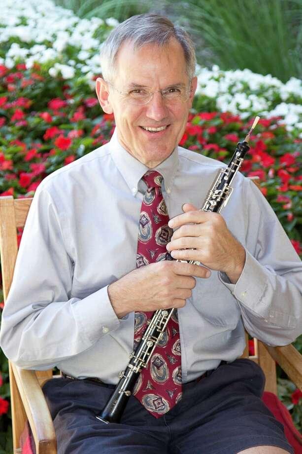 Oboist Mark Ackerman is part of the Olmos Ensemble. Courtesy Olmos Ensemble