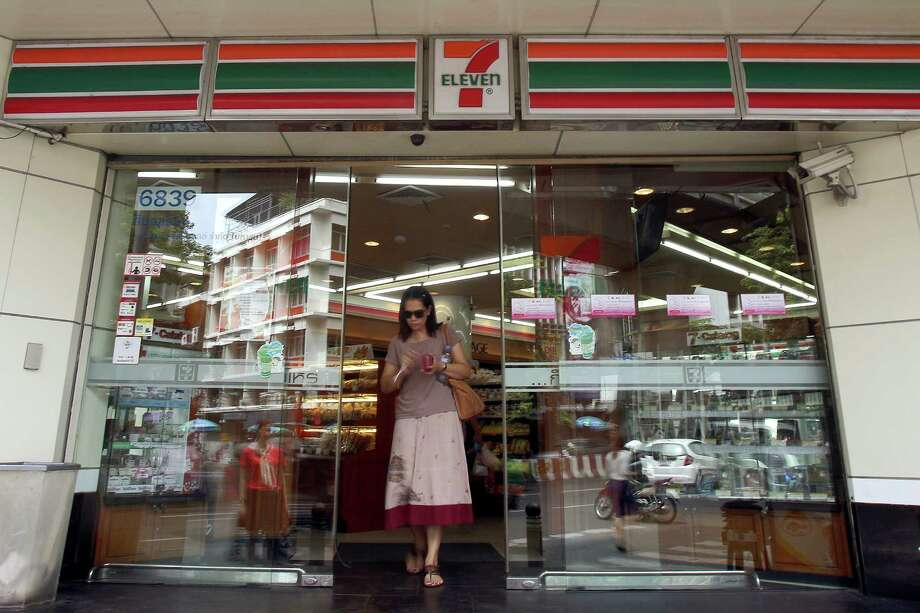 Today is 7-Eleven Day, and the convenience store is giving out free small Slurpees. Click through the gallery to see how movies, music and television have adopted the chain as a pop culture staple.  Photo: Dario Pignatelli, Bloomberg / © 2012 Bloomberg Finance LP