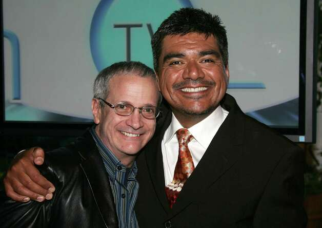 BEVERLY HILLS, CA - MARCH 15:  Actor Ron Palillo poses with George Lopez,actor  at the AOL and Warner Bros. Launch of In2TV at the Museum of TV & Radio on March 15, 2006 in Beverly Hills, California.  (Photo by Frazer Harrison/Getty Images) Photo: Frazer Harrison, Getty Images / 2006 Getty Images