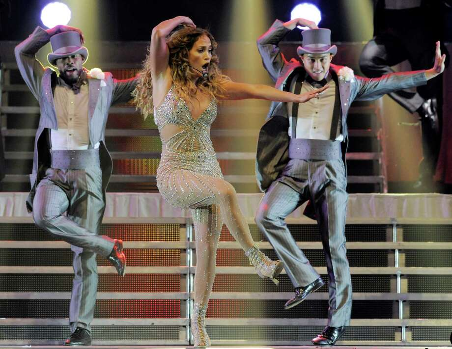 Jennifer Lopez performs at the Honda Center on Saturday, Aug. 11, 2012 in Anaheim, Calif. (Photo by Chris Pizzello/Invision/AP) Photo: Chris Pizzello, Associated Press / Invision