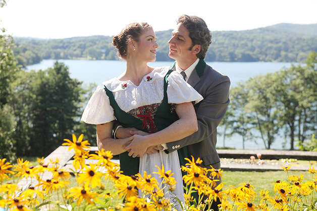 "Caitlin McGinty and Michael Sharon are starring in ""The Sound of Music"" at the TriArts Sharon Playhouse through Aug. 26. Photo: Contributed Photo"