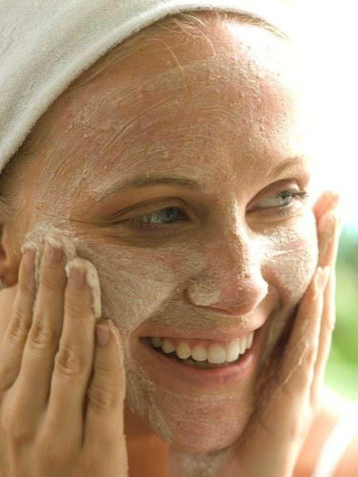 Don't neglect your face scrub: