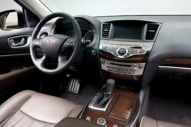 The Infiniti JX will come with a long list of standard and optional amenities, including a choice of Bose premium audio systems and an in-dash navigation system. Photo: Nissan North America
