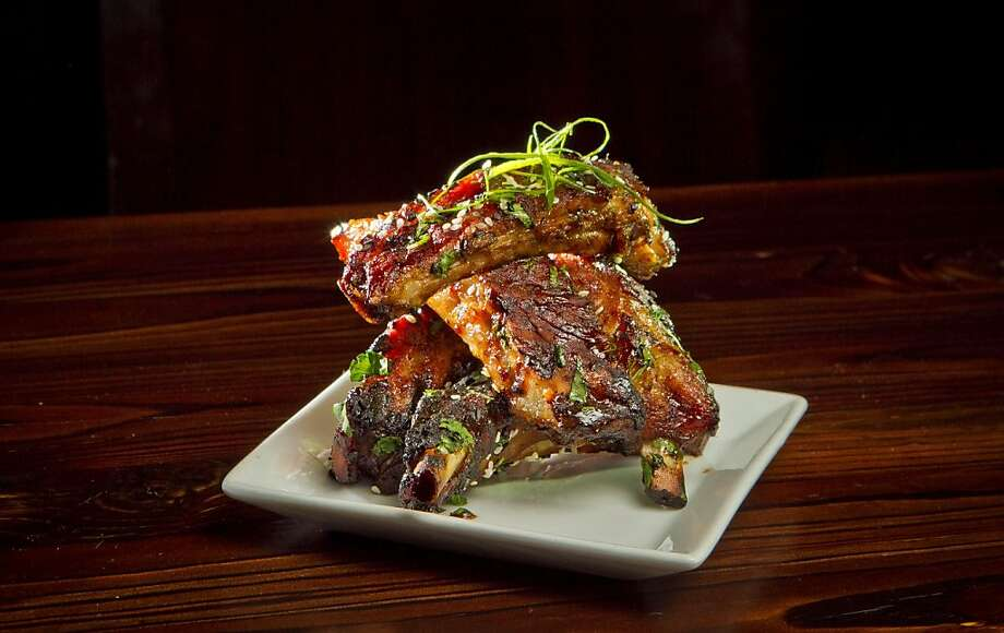 The Asian barbecued ribs are among the highlights at Martini Sky in Danville - moist and meaty with subtle spice and a good chew. Photo: John Storey, Special To The Chronicle