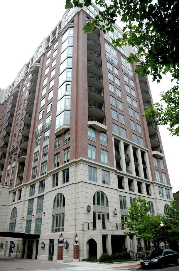 Highgrove condominium building at 70 Forest Street in Stamford on Tuesday, August 14, 2012. Photo: Lindsay Niegelberg / Stamford Advocate