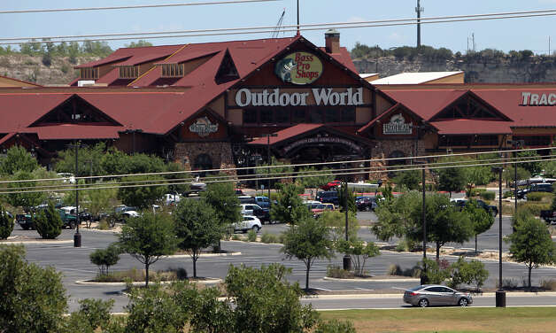 BASS Pro Shops sits on property owned by William Three partnerships. William Three owes almost $5 million in delinquent taxes. The parcel of property which BASS Pro Shops is on has about $3.7 million in delinquent taxes. Photo: Kin Man Hui, San Antonio Express-News / @2012 San Antonio Express-News