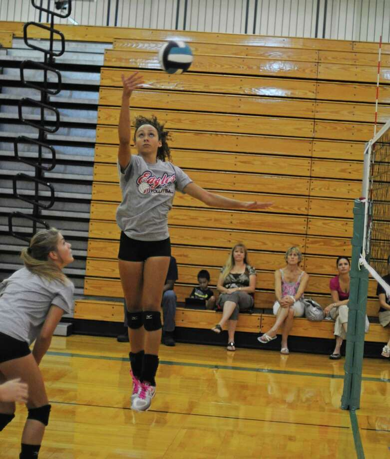 Dawson junior Gabbi Moreno was selected to the 2012 Greater Houston Volleyball Coaches Association Preseason All-Star Team and is a top returning starter for the Eagles. Photo: L. Scott Hainline / The Chronicle