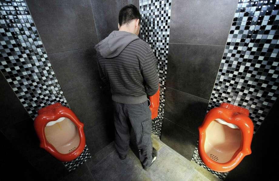 Женский туалет в институте