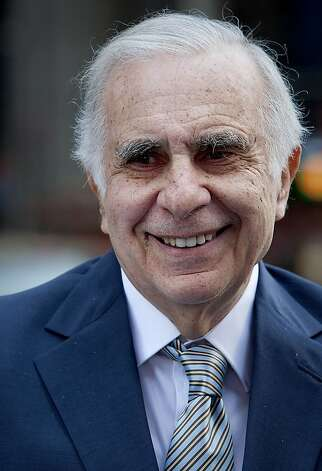 Carl Icahn, billionaire investor and chairman of Icahn Enterprises Holdings LP, stands outside of the Nasdaq MarketSite in New York, U.S., on Tuesday, March 27, 2012. Icahn announced his intention last month to offer $30 a share and give CVR Energy Inc. holders a right to as much as an additional $7 a share, a proposal that values the company at at least $2.6 billion, according to Bloomberg calculations. Photographer: Scott Eells/Bloomberg *** Local Caption *** Carl Icahn Photo: Scott Eells, Bloomberg