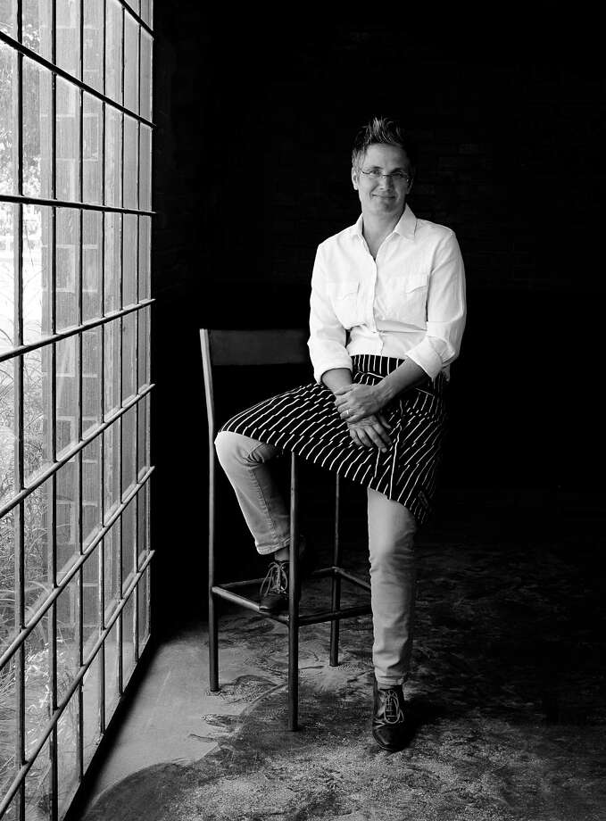 Chef Monica Pope in her new Sparrow Bar & Cookshop in the former t'afia space. Photo: Debora Smail / Debora Smail