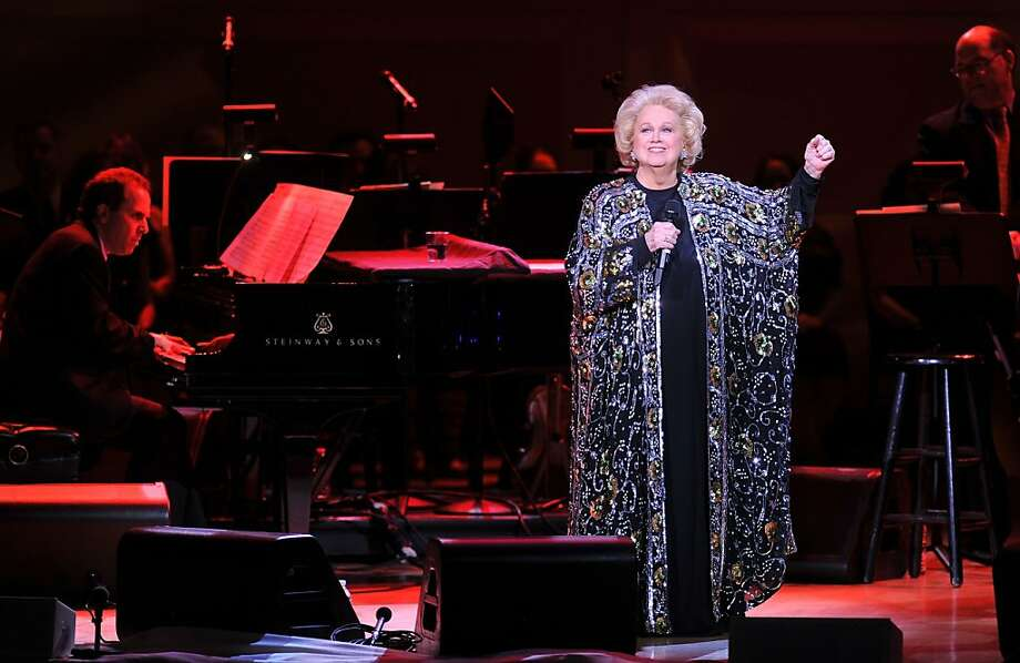 Barbara Cook performs last year at Carnegie Hall. The celebrated Broadway singer, a Kennedy Center Honors recipient in 2011, is bringing a new solo show to the Rrazz Room. Photo: Stephen Lovekin, Getty Images