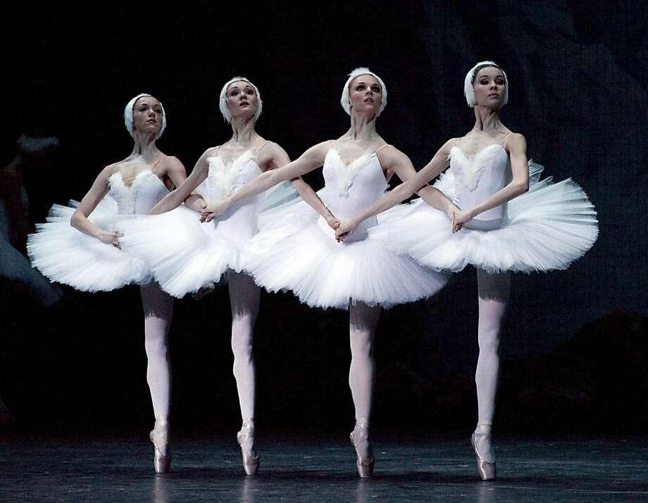 Mariinsky Ballet performs in Swan Lake. Oct. 10-14 at Cal Performances. Photo: Courtesy Of Mariinsky Ballet & O