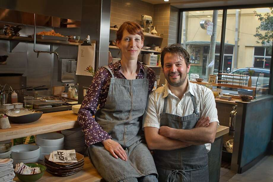 Stuart Brioza and Nicole Krasinski of State Bird Provisions Photo: John Storey
