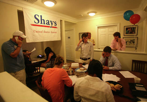 Christopher Shays headquarters in Stratford on Tuesday, August 14, 2012. Photo: Brian A. Pounds / Connecticut Post