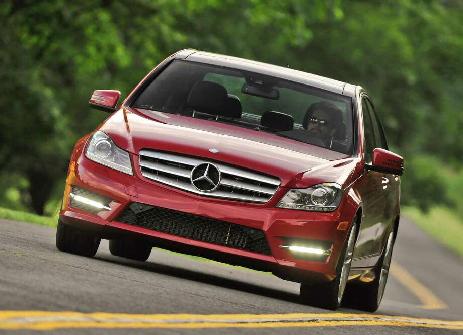 Mercedes-Benz disputed the ranking of its 2012 C-Class cars as poor in a new frontal crash test. Frontal crashes kill more than 10,000 people yearly in the U.S. Photo: Mercedes-Benz