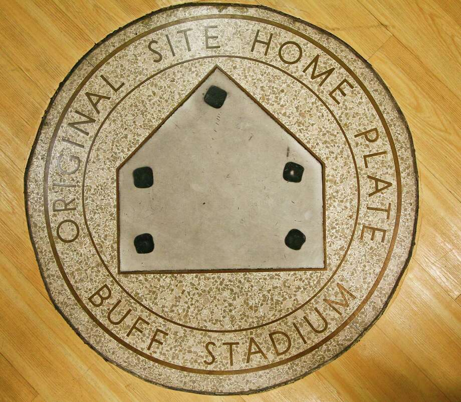The home plate from Buff Stadium will be removed and placed at one of two Finger's Furniture stores. Photo: Michael Paulsen / Houston Chronicle