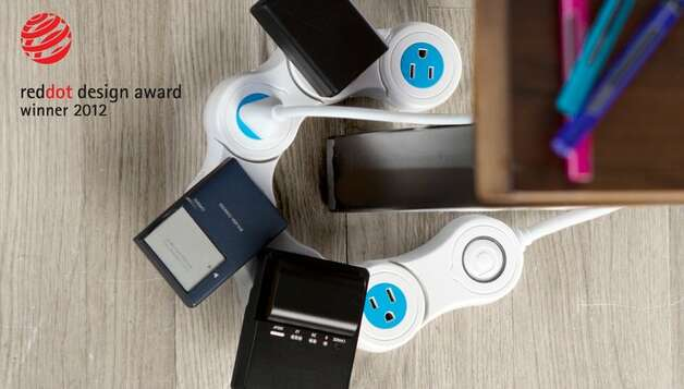 The Pivot Power Flexible Power Strip. $29.99 at quirky.com