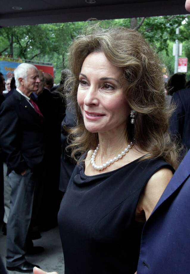 "Actress Susan Lucci arrives for the funeral of Marvin Hamlisch, in New York's Temple Emanu-El, Tuesday, Aug. 14, 2012. Hamlisch composed or arranged hundreds of scores for musicals and movies, including ""A Chorus Line"" on Broadway and the films ""The Sting,"" ''Sophie's Choice,"" ''Ordinary People"" and ""The Way We Were."" He won three Oscars, four Emmys, four Grammys, a Tony, a Pulitzer and three Golden Globes. Hamlisch died Aug. 6 in Los Angeles at age 68. Photo: Richard Drew, AP / AP"