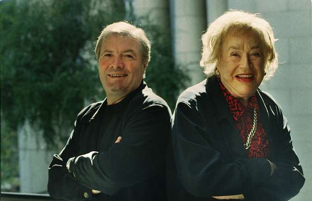 Jacques Pepin and Julia Child. (SFC Archives)