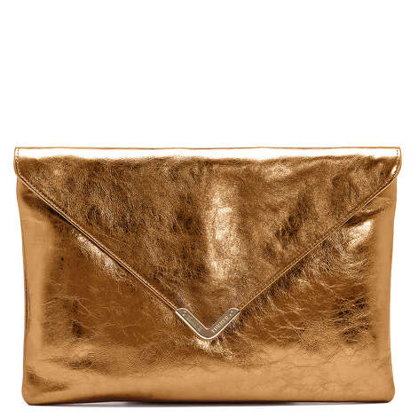 """Rachel"" bag in copper metallic leather, $295 Photo: Elaine Turner, Courtesy"