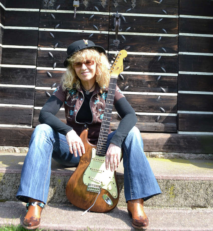 """Debbie Davies, a Stratford blues musician, will perform at Cafe Nine in New Haven on Friday, Aug. 24. Davies recently released her latest album, """"After The Fall."""" Photo: Contributed Photo"""