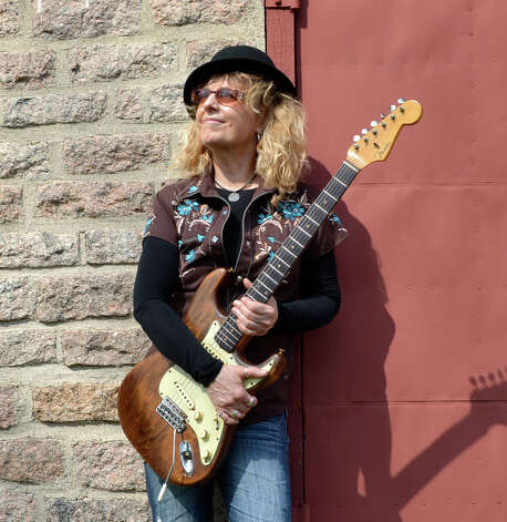 "Debbie Davies, a Stratford blues musician, will perform at Cafe Nine in New Haven on Friday, Aug. 24. Davies recently released her latest album, ""After The Fall."" Photo: Contributed Photo"
