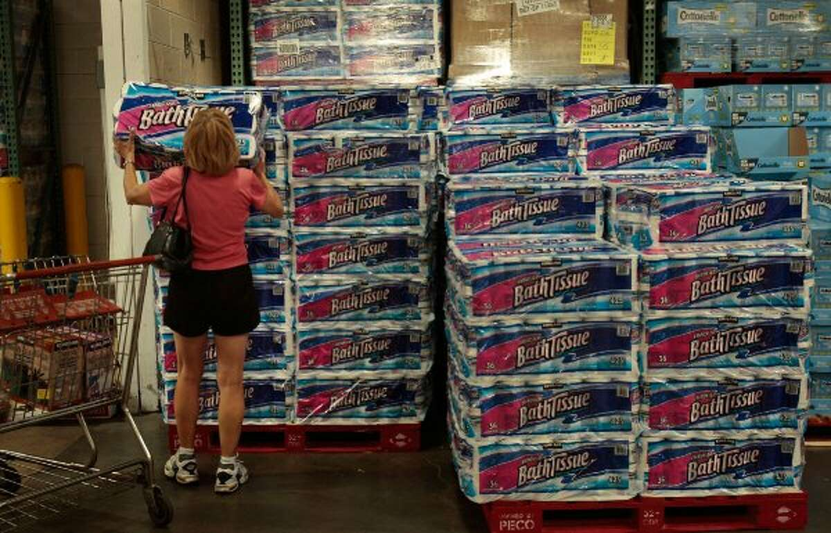 Costco's No.1 selling product is, you guess it, toilet paper. The company sells more than a billion rolls a year. That's $4 billion in toilet paper and enough rolls to wrap around the earth 1,200 times, says CNBC. (Chris Hondros / Getty Images)