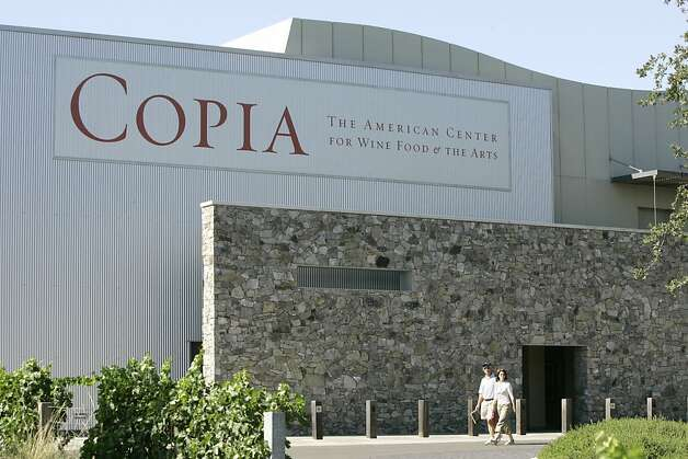 Copia, the $20 million American Center for Wine, Food and the Arts in Napa, is showing signs of life. Photo: Darryl Bush, SFC / SF