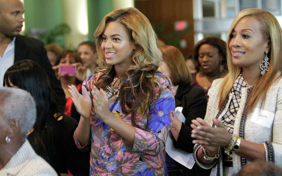 Beyonce Knowles went to the High School for Performing and Visual Arts.  Photo: Melissa Phillip, Houston Chronicle / © 2011 Houston Chronicle