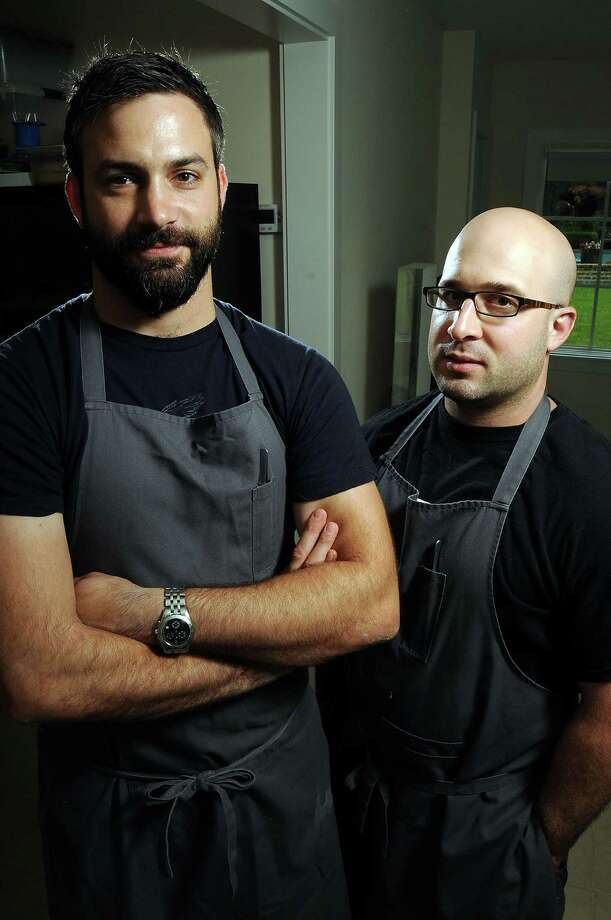 Chefs Terrence Gallivan, left, and Seth Siegel-Gardner are putting the final touches on their new dining experience - the dual-concept eatery Provisions and the Pass. Photo: Dave Rossman / © 2012 Dave Rossman