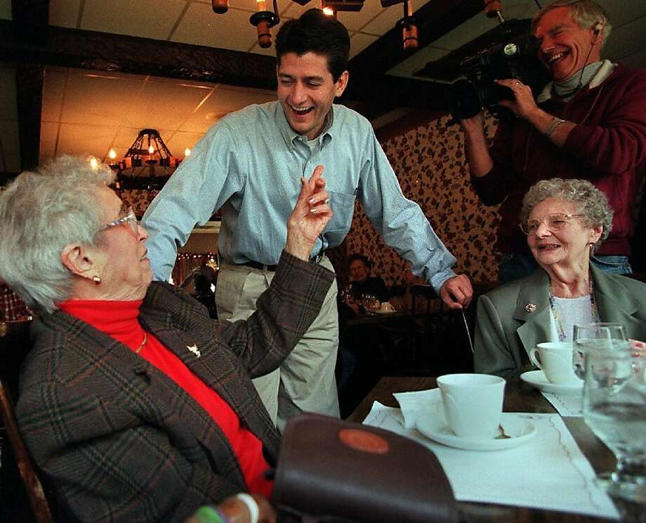Voters in and around Paul Ryan's hometown of Janesville, Wis., have been solid supporters of the congressman since first sending him to represent them in the House in 1998. Photo: Erwin Gebhard, Associated Press