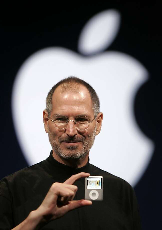 The late Steve Jobs ranked highest among CEOs making profit and using capital efficiently. Photo: Paul Sakuma, Associated Press