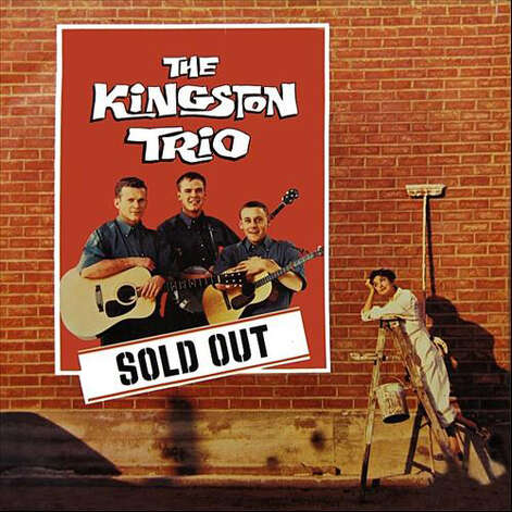 Dolores Erickson was on this Kingston Trio album cover in 1960. Photo: Album Cover