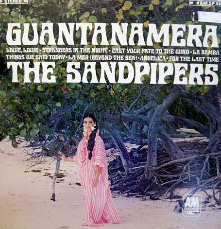 "Dolores Erickson also was on the cover of ""Guantanamera"" by The Sandpipers in 1966. Photo: Album Cover"