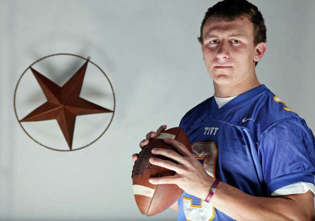 After weeks of fielding questions about who he planned to start at quarterback, Texas A&M coach Kevin Sumlin chose freshman Johnny Manziel, former Kerrville Tivy quarterback and the 2010 Express-News Offensive Player of the Year. Manziel threw for 3,609 yards and rushed for another 1,674 as a Tivy senior in 2010. Here's a look back at his high school career. Photo: Edward A. Ornelas, San Antonio Express-News / eaornelas@express-news.net