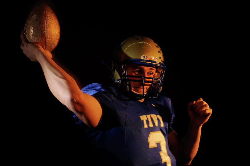 Johnny Manziel, a senior at Kerrville Tivy High School, is the boys' offensive player of the year