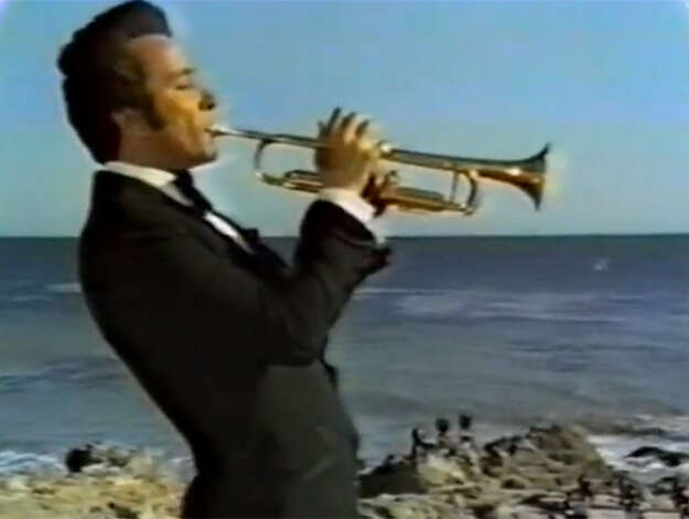 "Herb Alpert, who has sold more than 70 million albums worldwide, plays trumpet in a video for ""A Taste of Honey"" off the 1965 album ""Whipped Cream and Other Delights."" (YouTube video image)"