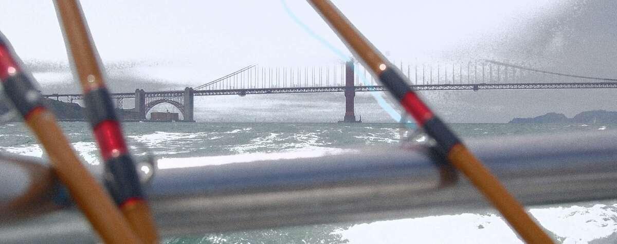 Classic fog-bound summer morning on the bay (Courtesy Capt. R.J. Waldron)