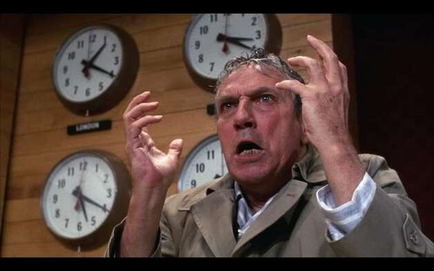 "Peter Finch - ""Network"""