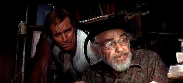 "Edward G. Robinson - ""Soylent Green"" (with Charlton Heston)"