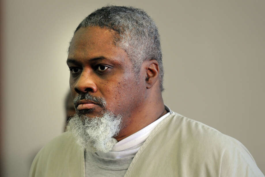 Leonard Jackson, 53, is arraigned in Superior Court, in Bridgeport, Conn. Aug. 16th, 2012. Jackson is charged with the murder of Stella Brantley, whose body was found in Seaside Park on Oct. 30, 1980. Photo: Ned Gerard / Connecticut Post