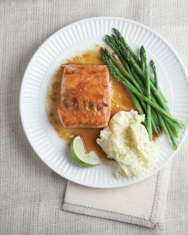 "Asian Salmon from ""The Mom 100 Cookbook"" by Katie Workman Photo: Courtesy Photo"
