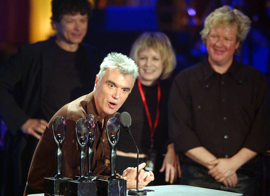 """Road to NowhereEx-Florida Gov. Charlie Crist settled a lawsuit filed by David Byrne, who accused the Republican of using the Talking Heads' song """"Road To Nowhere"""" in an attack ad.  Photo: KATHY WILLENS, AP / AP"""