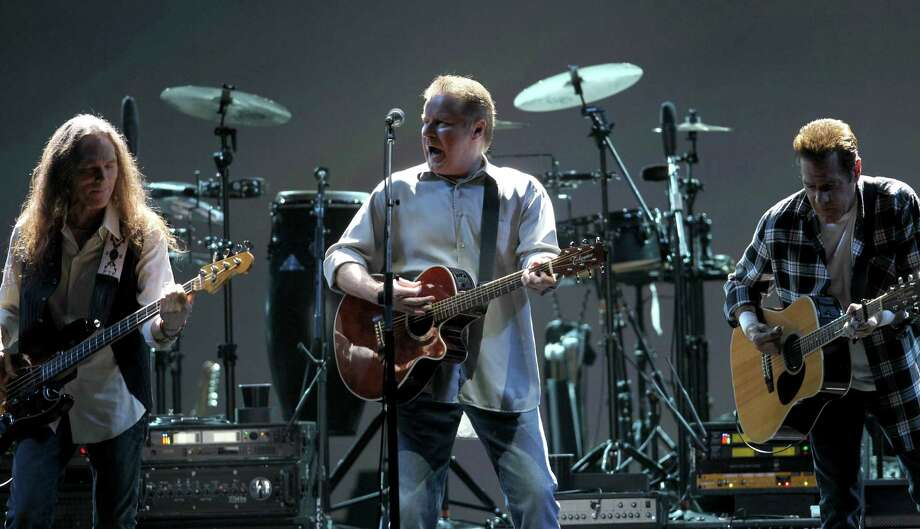 """A California judge ruled  that Don Henley (center) tracks """"All She Wants to Do is Dance"""" and  """"The Boys of Summer"""" were unlawfully adapted by California Republican  senatorial candidate Chuck DeVore. DeVore wrote and recorded altered  versions without permission for campaign videos. Photo: Karen Warren, Houston Chronicle / Houston Chronicle"""