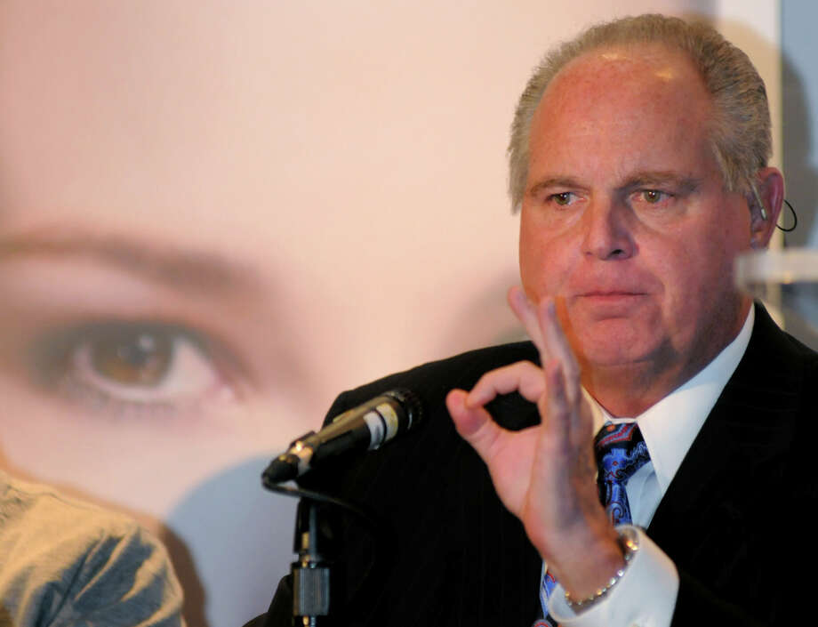 "Rush has demanded that conservative radio host Rush Limbaugh stop  using songs ""The Spirit Of Radio"" and ""Bravado.""  Photo: Brian Jones, Associated Press / AP2010"
